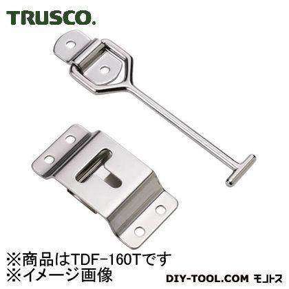 トラスコ(TRUSCO) 車体ドア留め金具縦型・ステンレス製167mm1組(袋)=1個 TDF-160T 1個