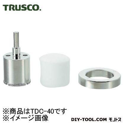トラスコ(TRUSCO) ダイヤモンドコアドリル40mm 160 x 130 x 41 mm