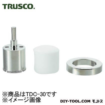トラスコ(TRUSCO) ダイヤモンドコアドリル30mm 160 x 131 x 31 mm