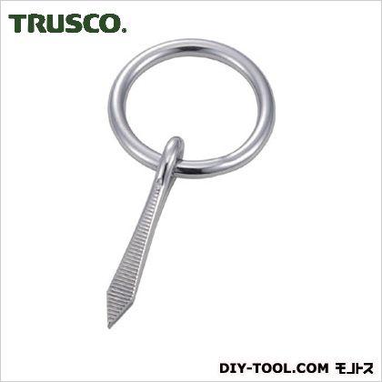 トラスコ(TRUSCO) 打ち込み丸カンステンレス製3mm(1個=1袋) 95 x 45 x 10 mm TUM-3 1個