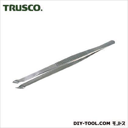 トラスコ(TRUSCO) 耐酸耐磁ピンセット150mm斜型 573-SA