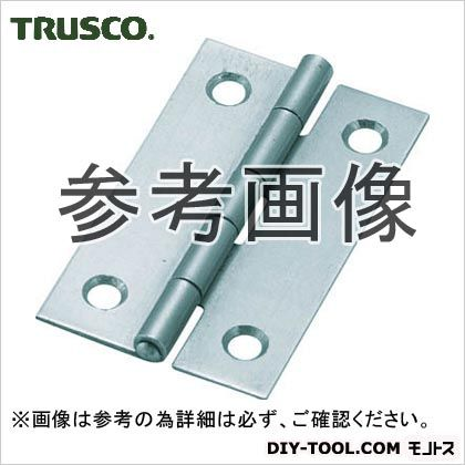 スチール製薄口普通蝶番三価クロムメッキ仕上げ全長31.5mm   550-32UNCR 10 個