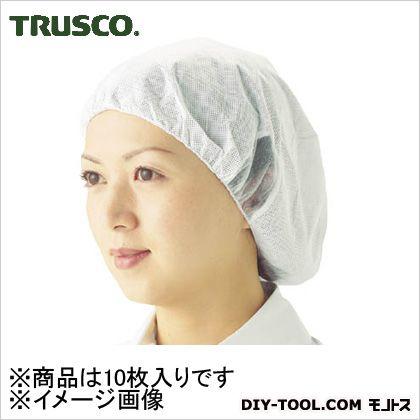 トラスコ(TRUSCO) 帯電帽つば無しMサイズ(10枚入) 360 x 257 x 15 mm TTC-M 10枚