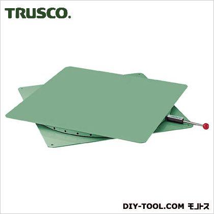 トラスコ(TRUSCO) 回転台角型600X600耐荷重500kg 600×600 TT-600