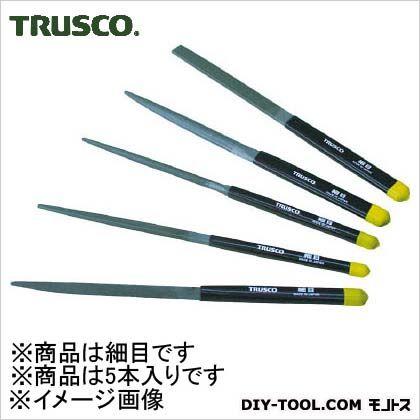 トラスコ(TRUSCO) 組ヤスリセット細目全長2155本組 223 x 77 x 20 mm TST005-03 5本
