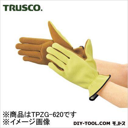 トラスコ(TRUSCO) ザイロン耐切創手袋すべり止めタイプLサイズ TPZG-620
