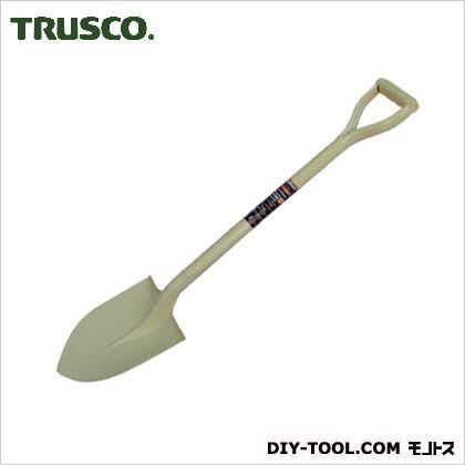 トラスコ(TRUSCO) パイプ柄ショベル丸形全長970mm 978 x 230 x 65 mm
