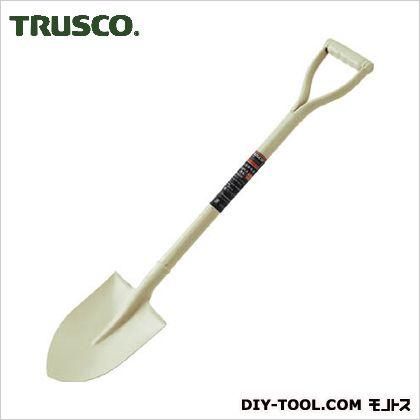 トラスコ(TRUSCO) パイプ柄ミニショベル丸形全長815mm 815 x 165 x 65 mm