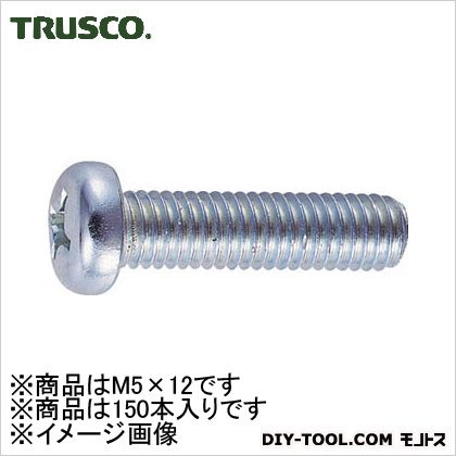 TRUSCO ナベ頭小ネジユニクロサイズM5X12150本入 137.0071.0029.00MM