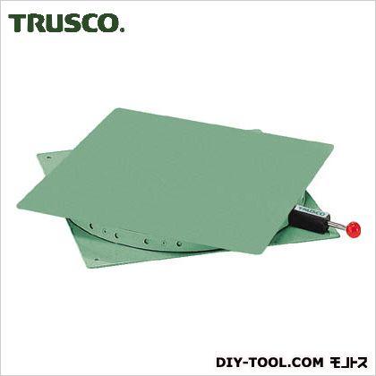 トラスコ(TRUSCO) 回転台角型400X400耐荷重300kg