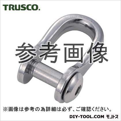 トラスコ(TRUSCO) 沈み半丸シャックルステンレス製6mm2個入 87 x 44 x 16 mm 2個