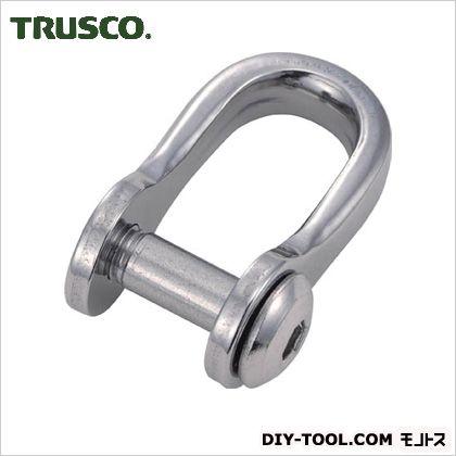 トラスコ(TRUSCO) 沈み半丸シャックルステンレス製5mm2個入 90 x 43 x 16 mm 2個