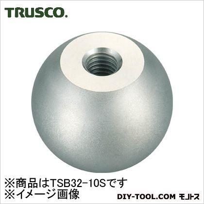 トラスコ(TRUSCO) ステンレス製握り玉Φ32X10mm TSB32-10S