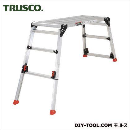 足場台アルミ製脚部伸縮タイプ高さ0.60~0.91m   TDWG-610