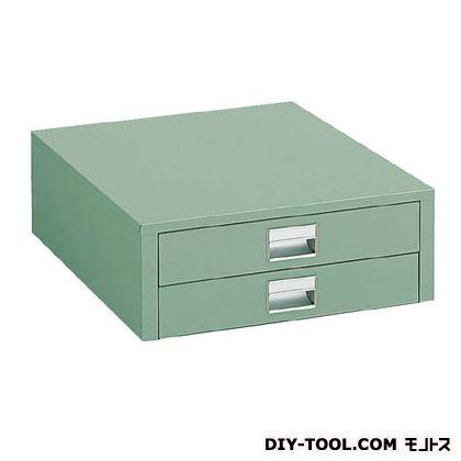 【送料無料】トラスコ(TRUSCO) UDK型作業台用引出し薄型 グリーン UDC-002