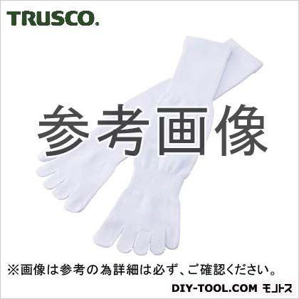 トラスコ(TRUSCO) 軍足5本指4足組ホワイト TSG-510W 4足