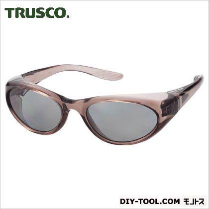 二眼型偏光セーフティグラスグレー   TSG-380