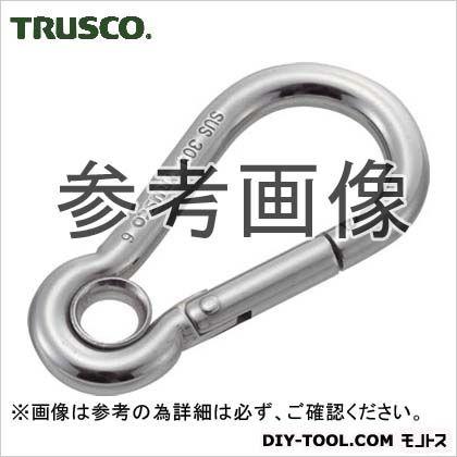 トラスコ(TRUSCO) ステンレススナップフックA型線径Φ8×開口11mm(1個入) 86 x 54 x 8 mm 1個