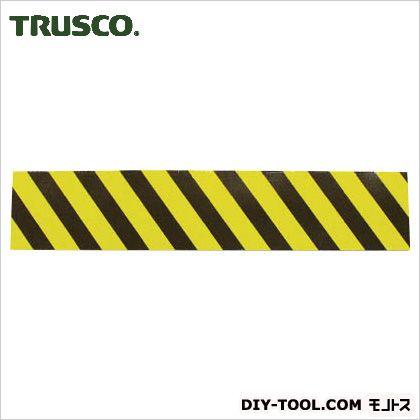 トラスコ(TRUSCO) セーフティクッション幅200mmX長さ1mイエローブラック 1015 x 220 x 5 mm