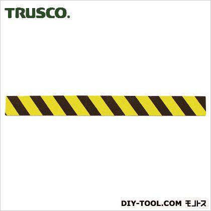 トラスコ(TRUSCO) セーフティクッション幅100mmX長さ1mイエローブラック 1000 x 120 x 5 mm