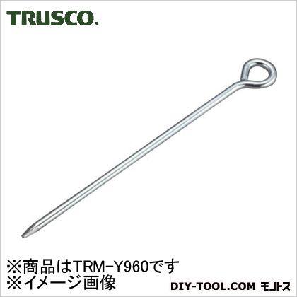 トラスコ(TRUSCO) ユニクロロープ止め丸型9×600mm 640 x 35 x 10 mm