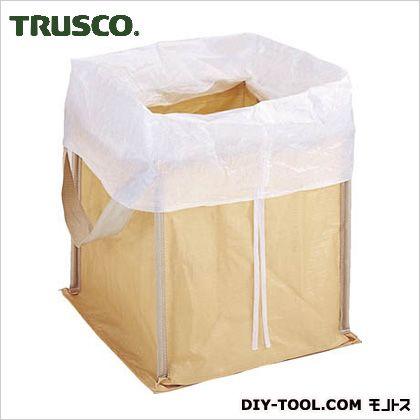 トラスコ(TRUSCO) 回収袋自立型タイプ450L白カバー付 RJ-301