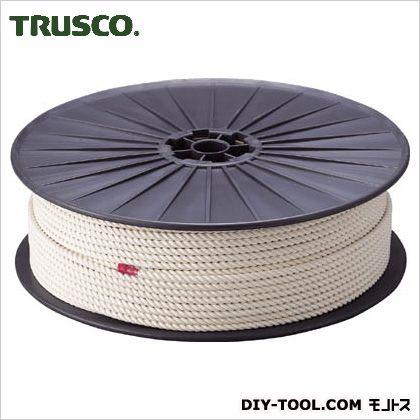 【送料無料】トラスコ(TRUSCO) 綿ロープ3つ打線径6mmX長さ200m 36 x 36 x 11 cm R-6200M