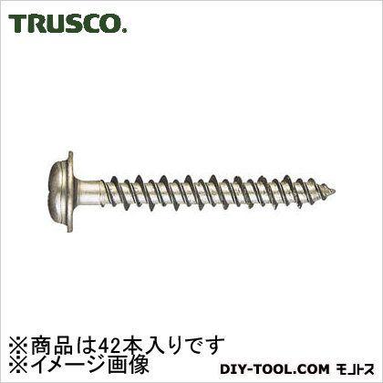 トラスコ(TRUSCO) Pレスアンカー座なべ頭スチール4X2542本入 PWV-425BT 42本