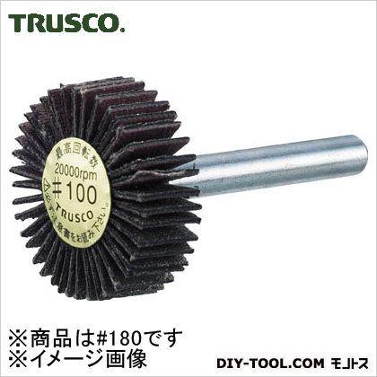 ダイヤ軸付フラップホイールオールダイヤΦ30X軸径6180# 180  P-DF3010-6A