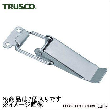 トラスコ(TRUSCO) パッチン錠標準タイプ・スチール製(2個入) P-91 2個
