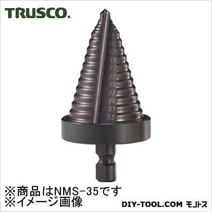 【送料無料】トラスコ(TRUSCO) ステップドリル2枚刃黒染め表面処理5〜35mm段数13 160 x 82 x 35 mm NMS-35 1