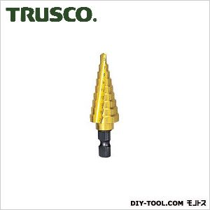【送料無料】トラスコ(TRUSCO) ステップドリル2枚刃チタンコーティング5〜21mm段数9 170 x 68 x 28 mm NMS-21G 1