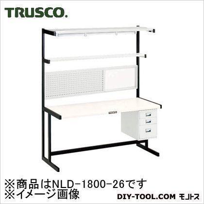 ニューラインデスクパネル・3段引出・照明付W1200   NLD-1800-26