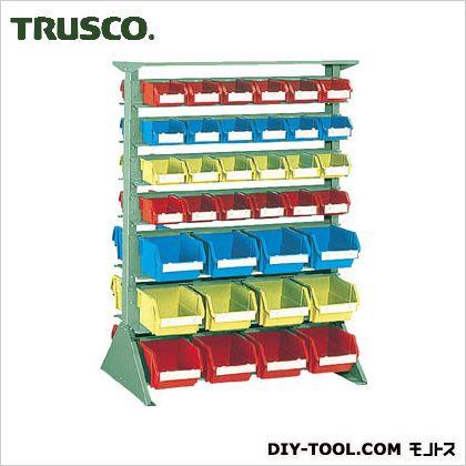 【送料無料】トラスコ(TRUSCO) 両面重量コンテナラックH1265T2X48T5X24 U-1234W 1S