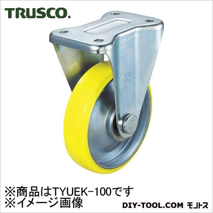 トラスコ(TRUSCO) 帯電防止ウレタンキャスター固定Φ100 146 x 115 x 80 mm