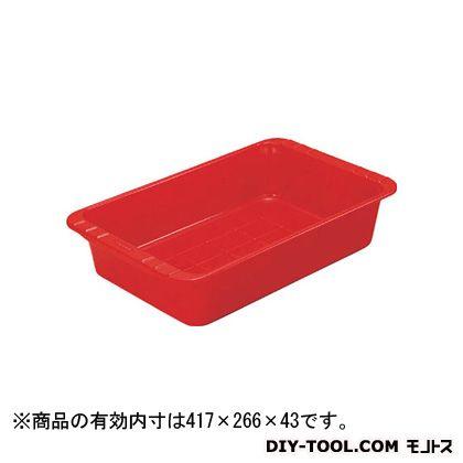 トラスコ(TRUSCO) パーツBOX浅型有効内寸417X266X43赤 R 510 x 320 x 43 mm