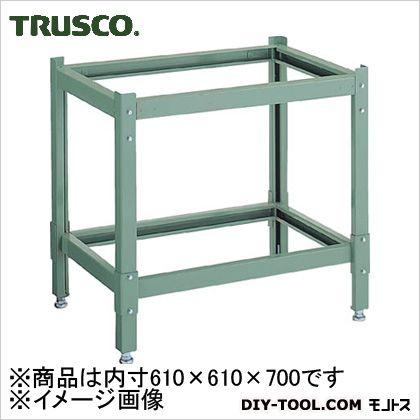 トラスコ(TRUSCO) 定盤専用台外寸610×610×700組立品