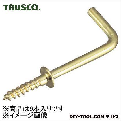トラスコ(TRUSCO) 真鍮洋折釘38mm9本入 97 x 51 x 20 mm 9本