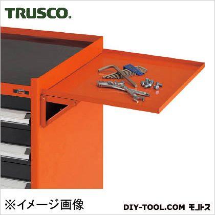 【送料無料】トラスコ(TRUSCO) TWVE型キャビネットワゴン用サイドテーブルオレンジ O TWVE-ST