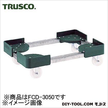 伸縮式コンテナ台車内寸300-400X500-600スチール製   FCD-3050