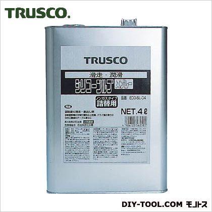 【送料無料】トラスコ(TRUSCO) αシリコンルブ4L 255 x 180 x 110 mm ECO-SL-C4