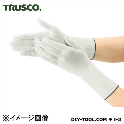 トラスコ(TRUSCO) インナー編手袋ロングタイプLサイズ(10双入) DPM-306EX-L 10双