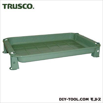 トラスコ(TRUSCO) ツールワゴンロイヤル浅型トレーTWR-2型用 緑 TWR-2A2