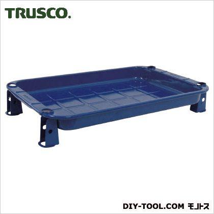 トラスコ(TRUSCO) ツールワゴンロイヤル浅型トレーTWR-2型用 青 TWR-2A2