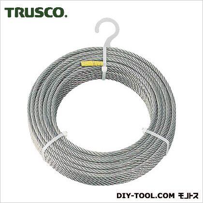 トラスコ(TRUSCO) ステンレスワイヤロープΦ6.0mmX30m 233 x 230 x 57 mm