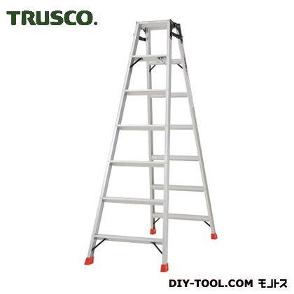 【送料無料】トラスコ(TRUSCO) はしご兼用脚立アルミ合金製脚カバー付高さ1.98m 2120 x 685 x 265 mm TPRK210