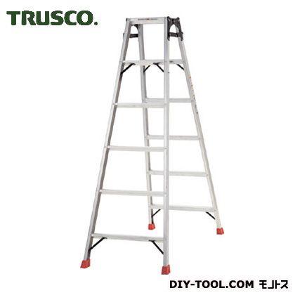 トラスコ(TRUSCO) はしご兼用脚立アルミ合金製脚カバー付高さ1.69m 1820 x 630 x 265 mm