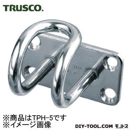 トラスコ(TRUSCO) ステンレスワイヤープレートフック5mm(1個=1袋) 125 x 63 x 32 mm TPH-5 1個