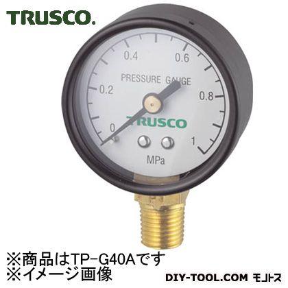 トラスコ(TRUSCO) 圧力計表示板径Φ40立型口径R1/8表示 112 x 67 x 30 mm TP-G40A