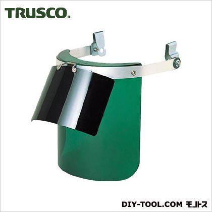 トラスコ(TRUSCO) ヘルメット取付型防災面グリーンダブル型 265 x 250 x 160 mm